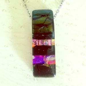 Jewelry - Hand-blown Glass Pendant Necklace